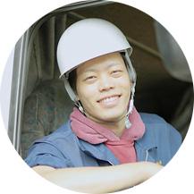 鋼材事業部 若村さんの写真