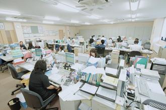 仕事場の全体写真