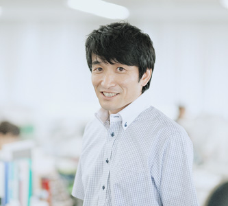 機工事業の先輩 上野さんの写真