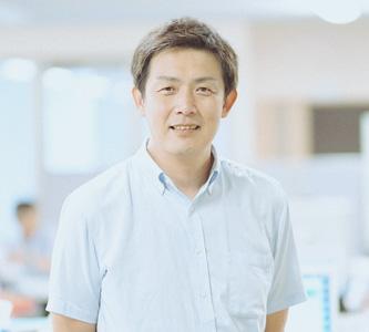 鋼材事業の先輩 坂井さんの写真