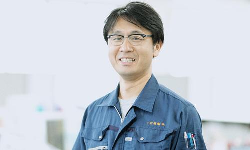機械システム事業の先輩 中巳出さんの写真